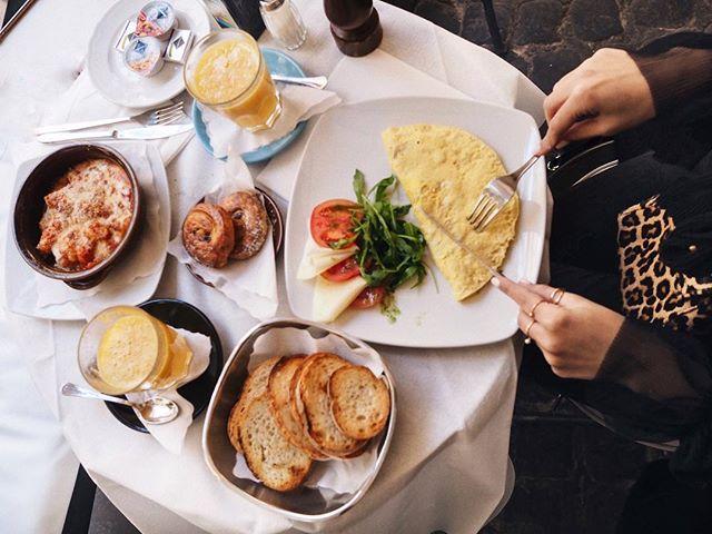 Breakfast is served 🍽