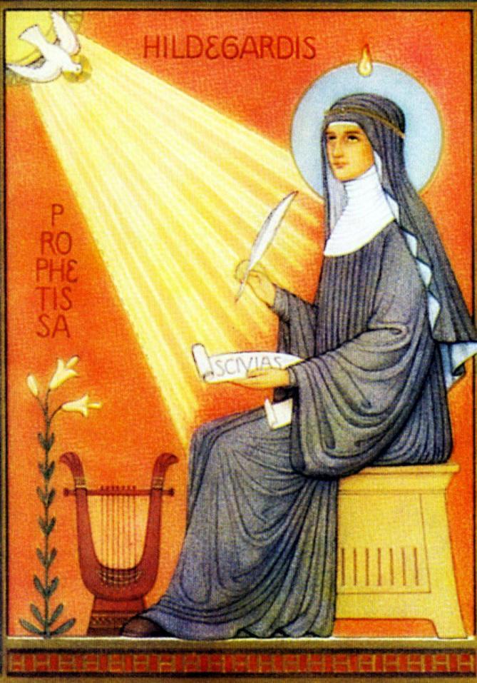 priere de guerison sainte hildegarde