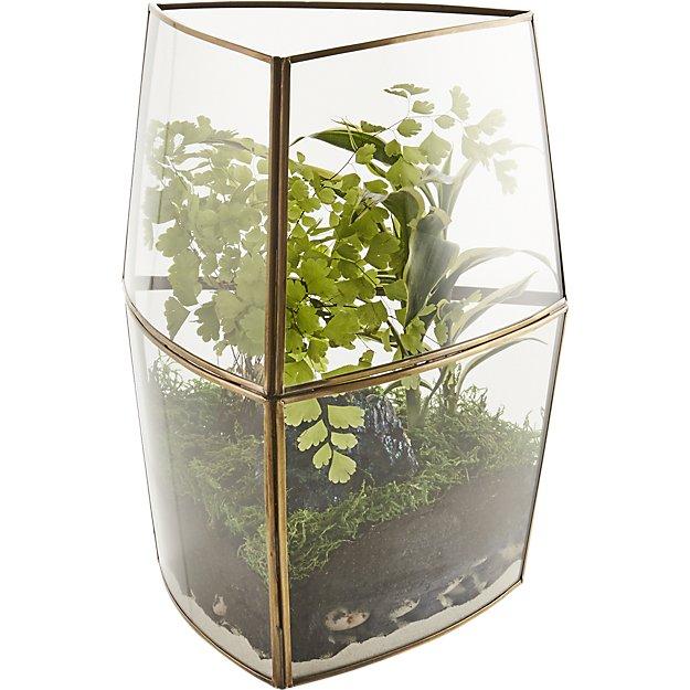 Gold Terrarium Vase