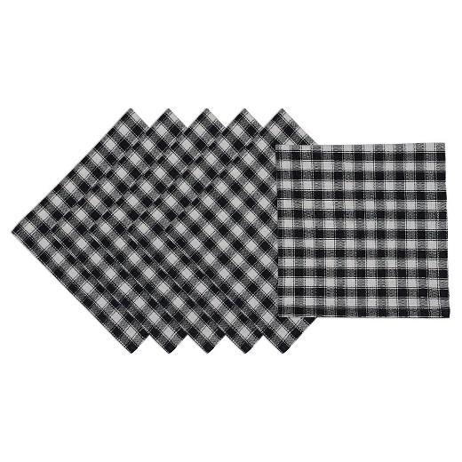 Checkered Napkins