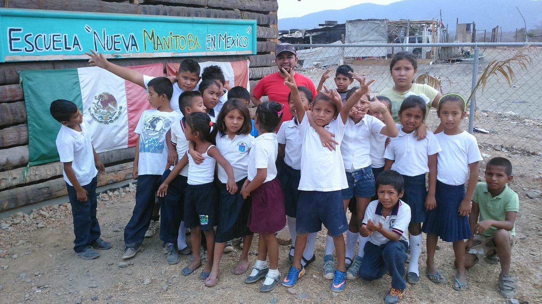 School Children at the Dump