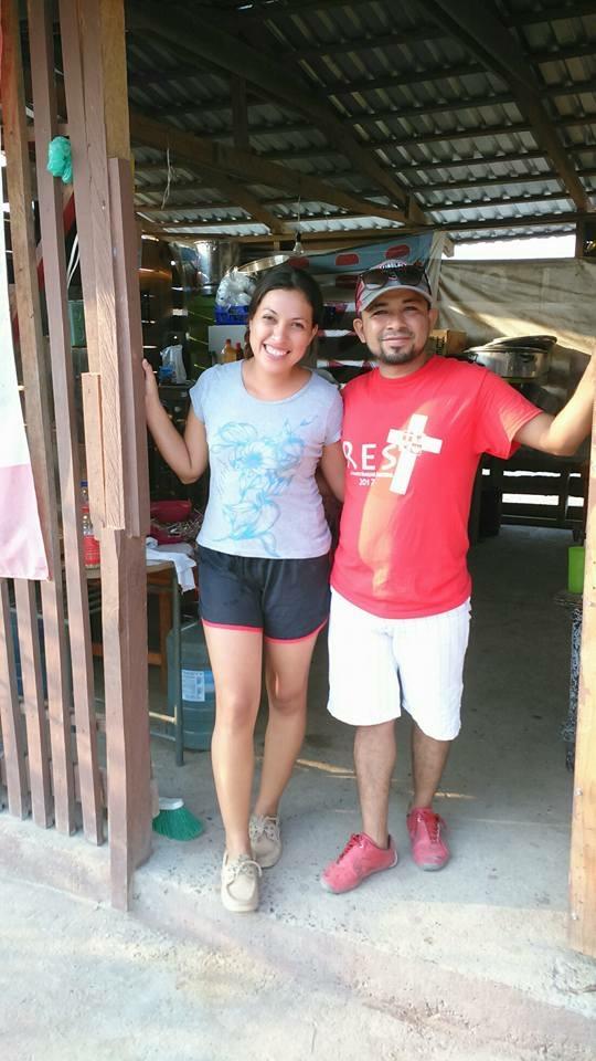 Tony and Mayra