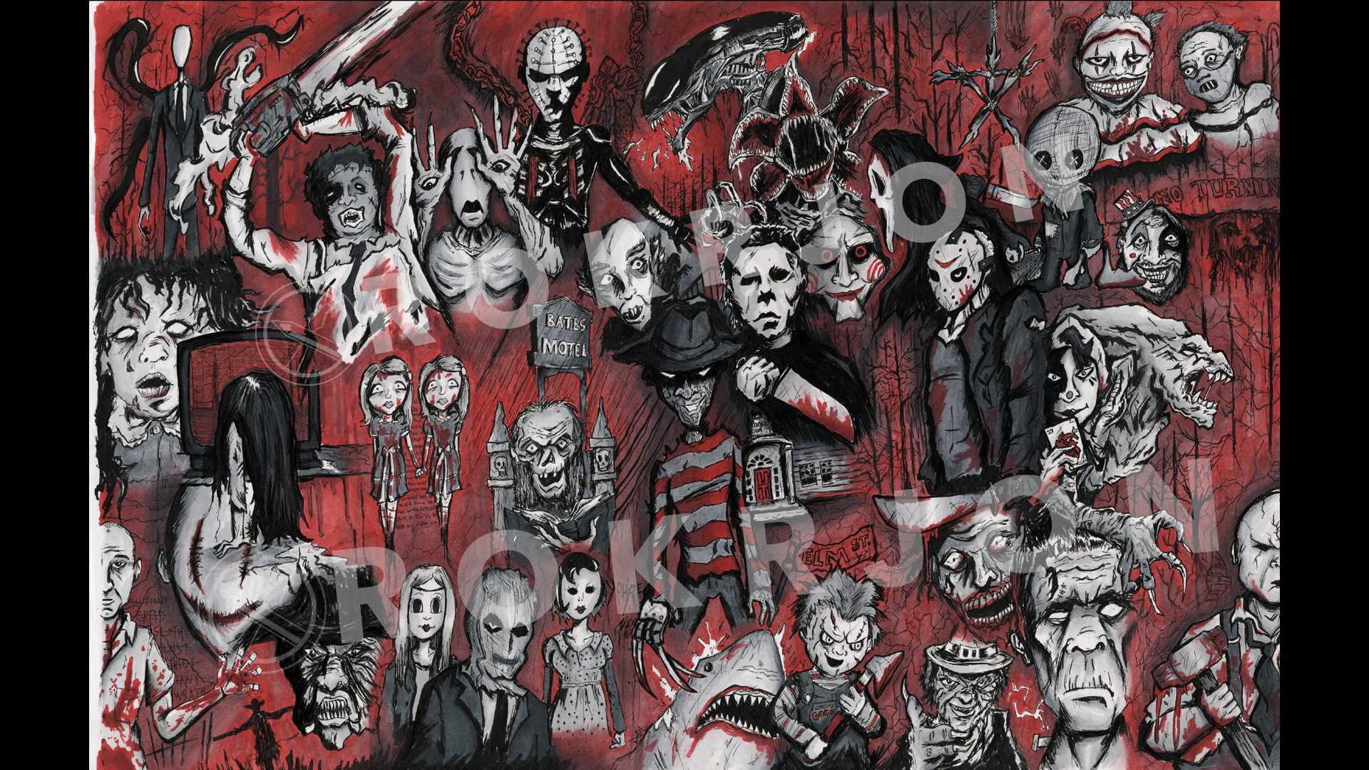 INKTOBER - Horror Icons.png