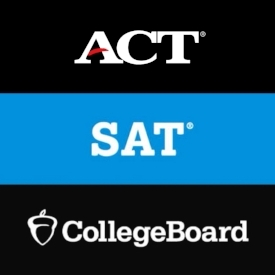SAT/ACT Testing   In order for high school student-athletes to take these tests, they must first be registered with SAT and/or ACT on each of their websites.