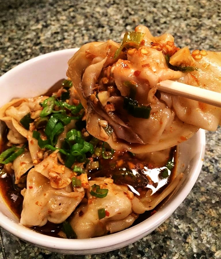 Spicy Dumplings with