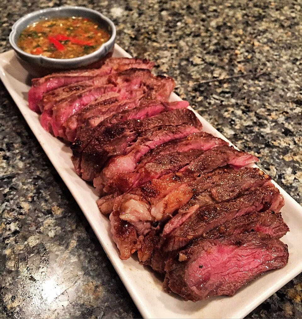 Grilled Steak with