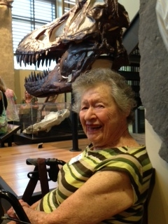 june and the triceratops.JPG