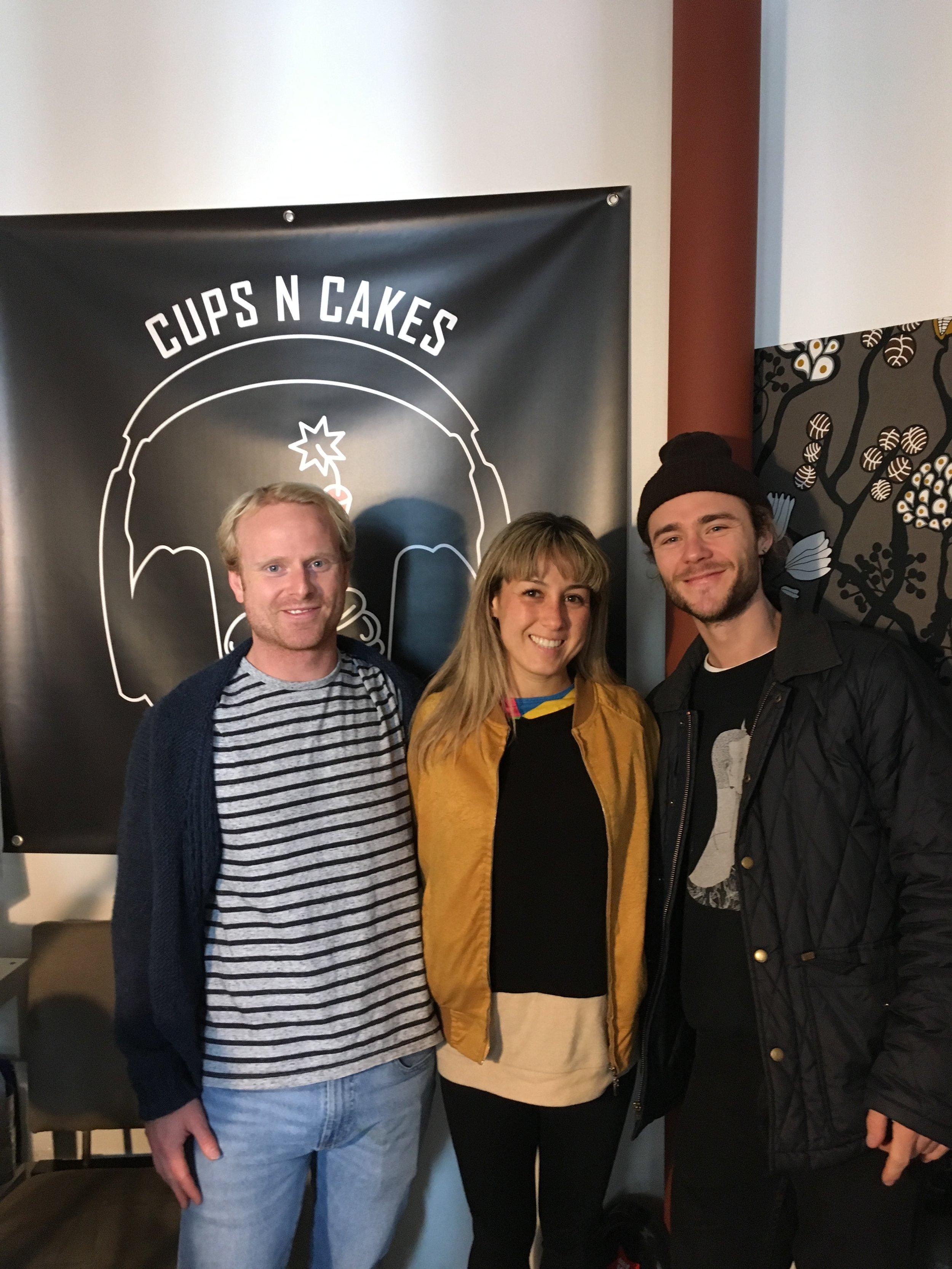 Will (Not in interview), Clea & Brock