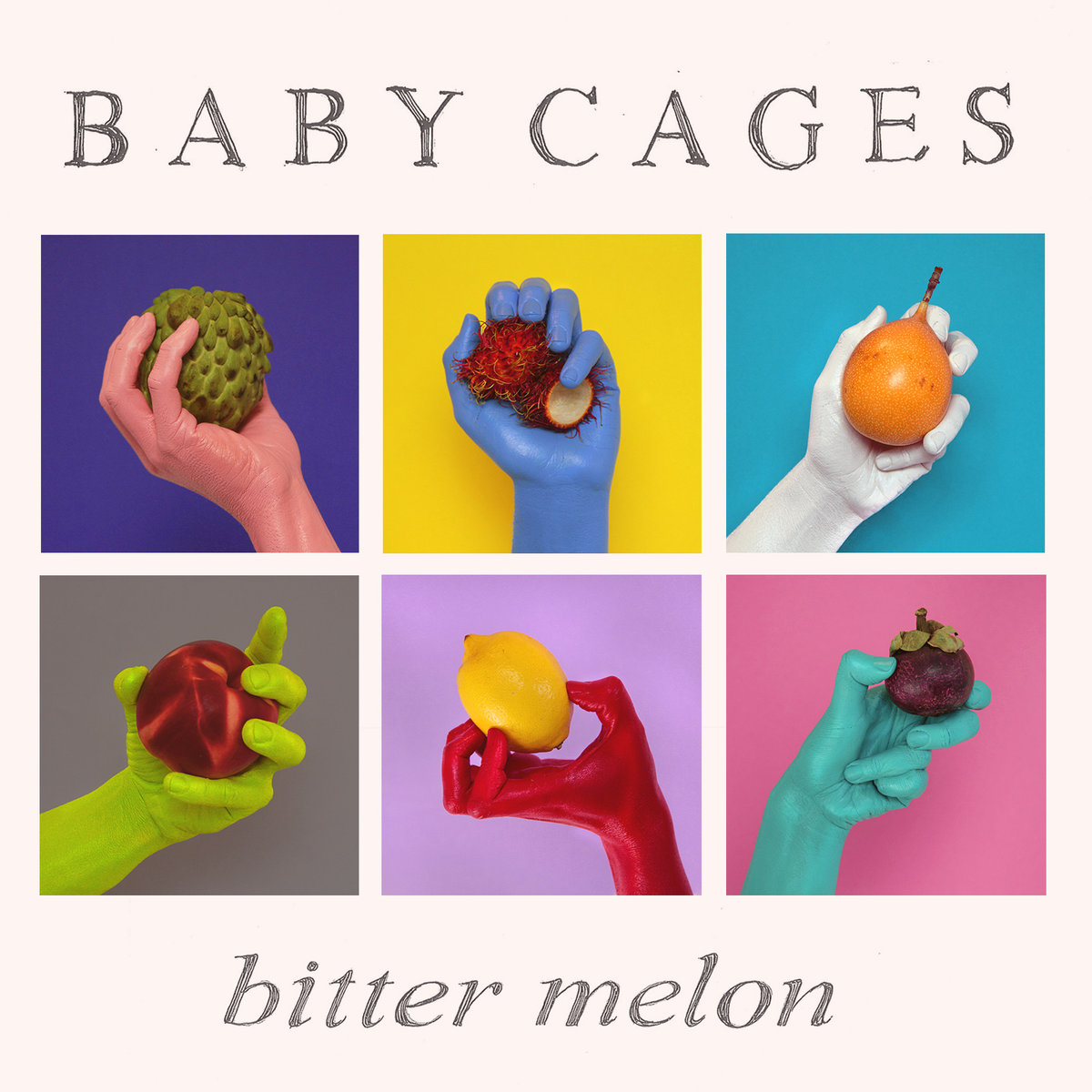 Baby Cages - Bitter Melon  Artwork by Kate Young