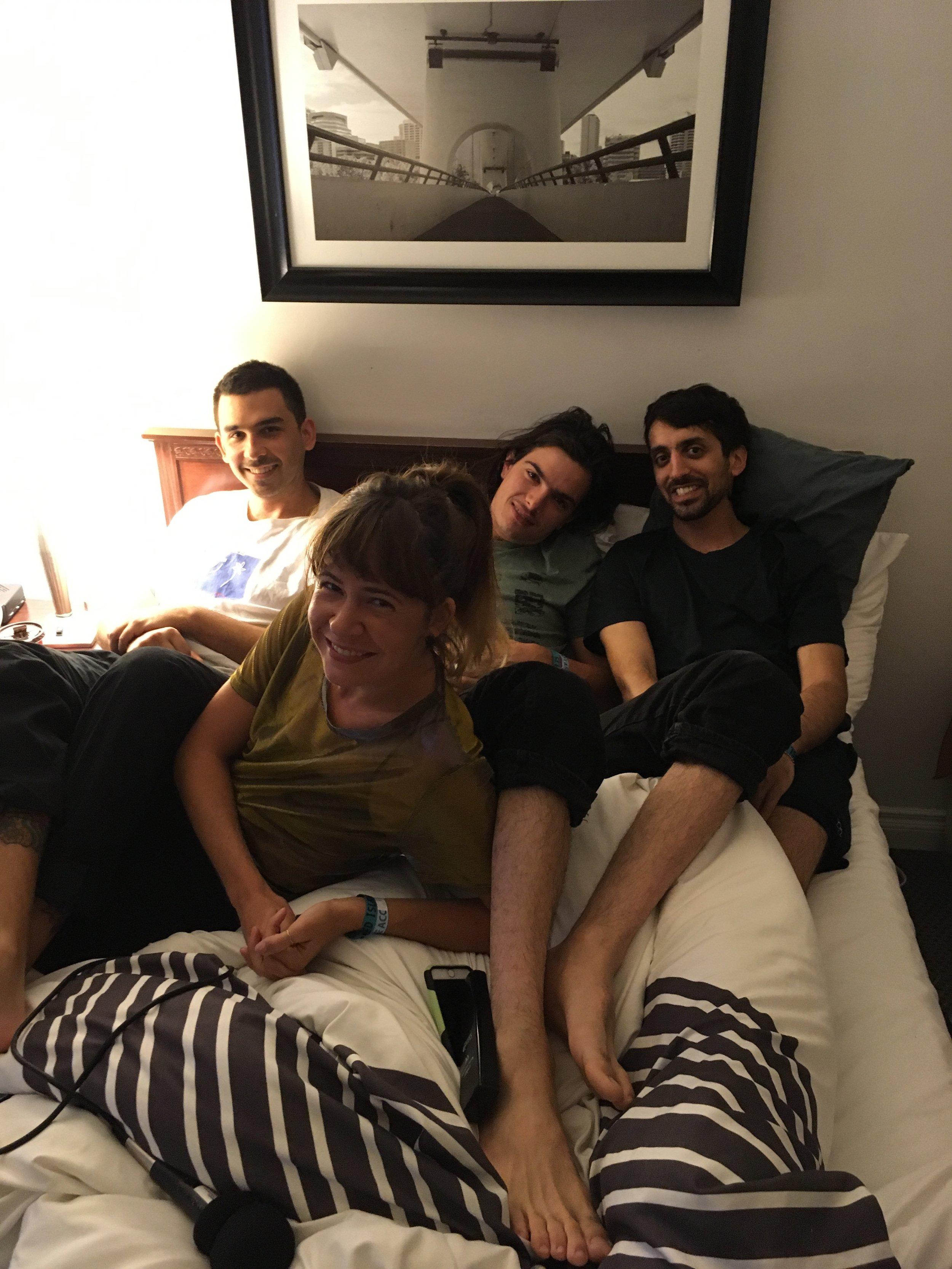 Dumb at their hotel