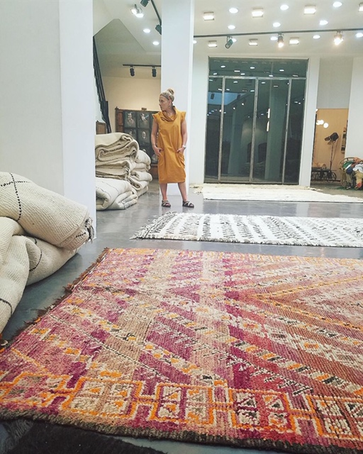 Rug Shopping at Soutane Zarib