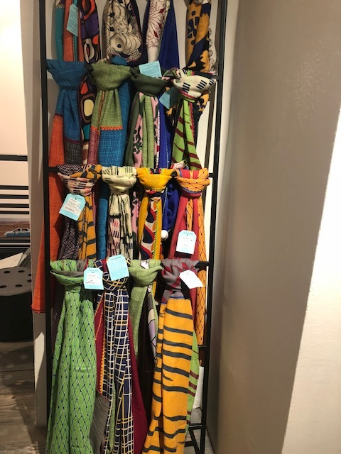 Scarves at 33 Rue Majorelle