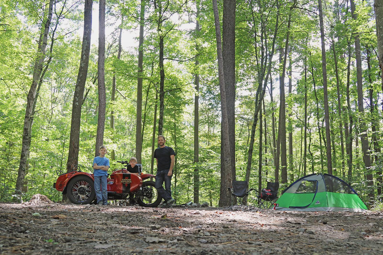 Ural cT camping trip