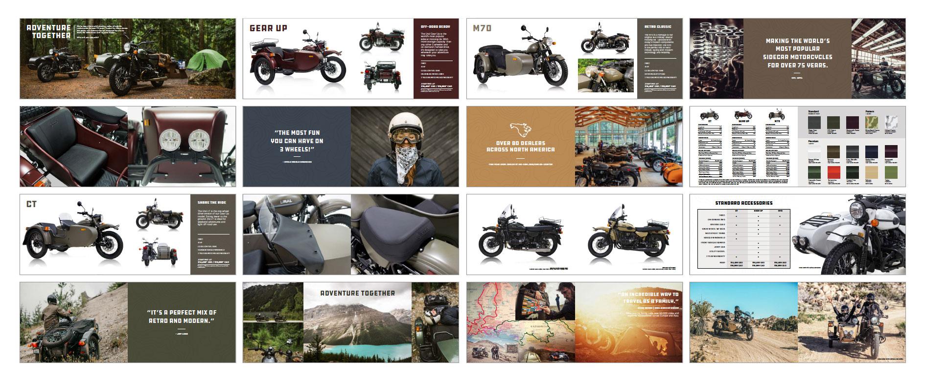 Ural Sidecar Motorcycles 2018 Brochure
