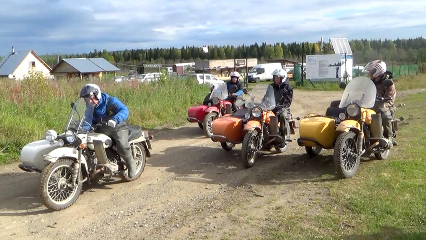 The test riders in this feature are the company's accountants, plant managers, controllers, etc.