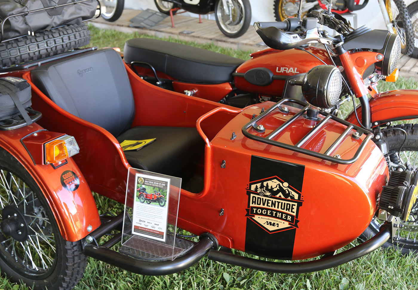 The Ural Gear Up raffle bike is going to make someone really happy!