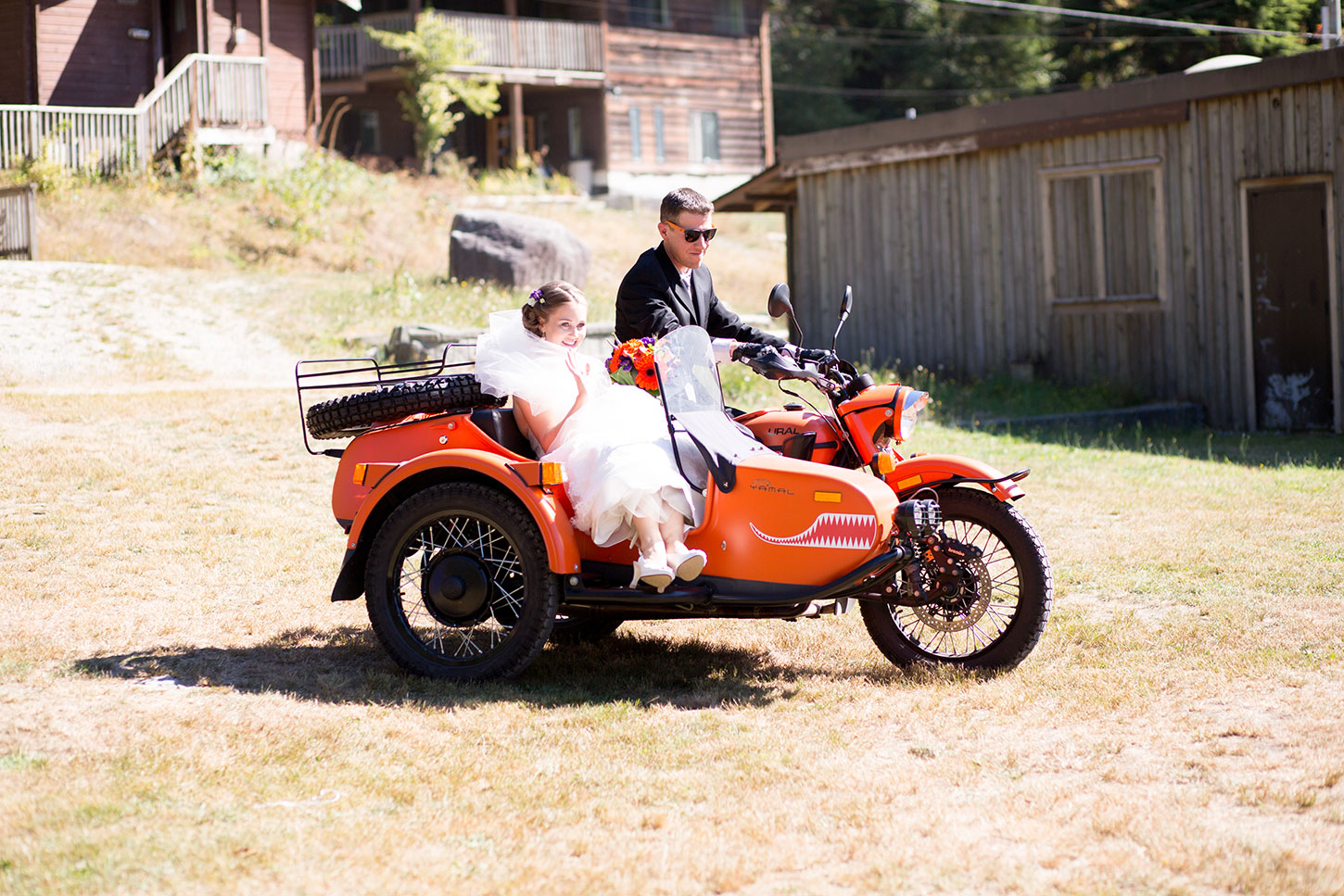 Ryan and Katie on a Ural Yamal, photographed in BC, Canada by  Rhonda Dent Photography .