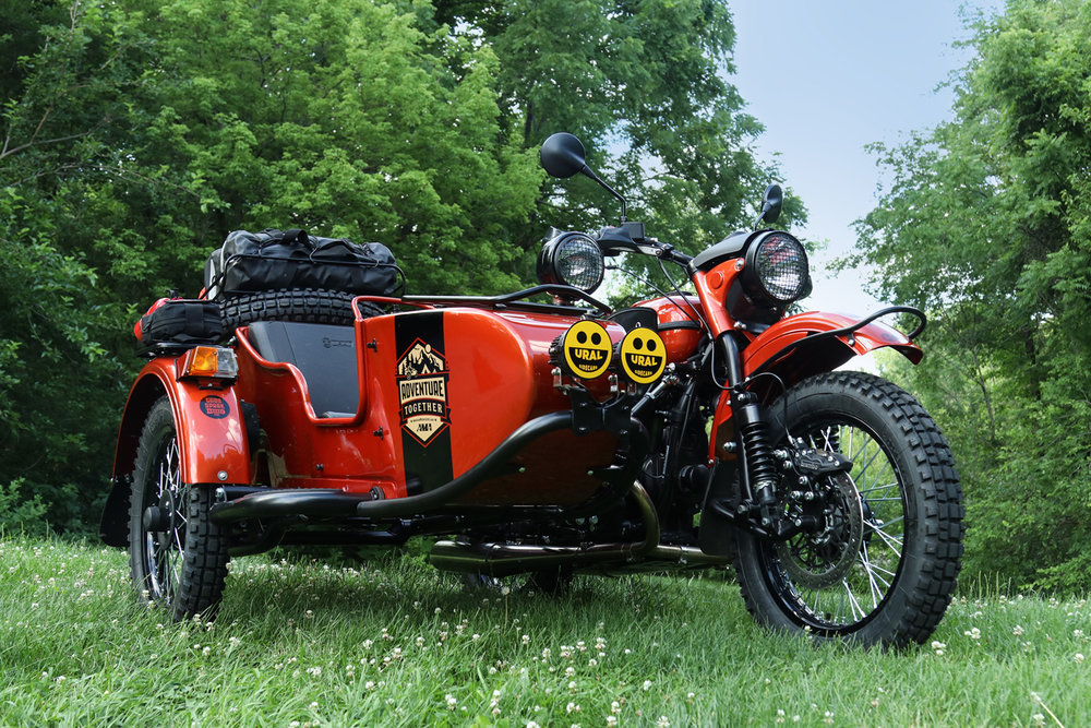 WIN THIS URAL! - We've partnered up with the American Motorcycle Association and Motorcycle Hall of Fame to raffle off a brand new fully outfitted Gear Up! For a $5 donation to the Motorcycle Hall of Fame, you'll be automatically entered to take home this brand new, fully outfitted Gear Up, ready for your next big adventure! This contest will run for a full year with the winner being announced next summer!Kitted out with our favorite off-road accessories (including custom graphic details from design team and Ural ambassadors, The Wikinson Brothers) this Gear Up is ready to take you far beyond the trail.Contest is open to U.S. residents only.Drawing will take place December 7, 2018.