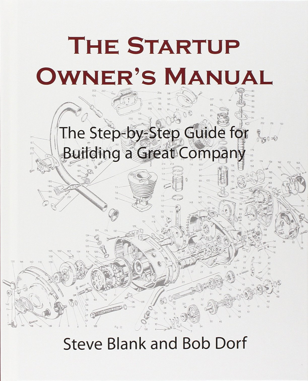 The Startup Owner's Manual: The Step by step Guide for Building a Great Company by Steven Blank