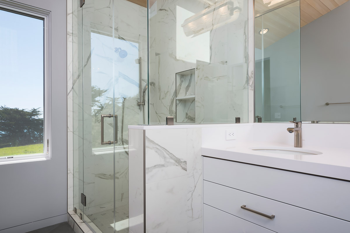 Master Bath #2 with Frameless Door Shower