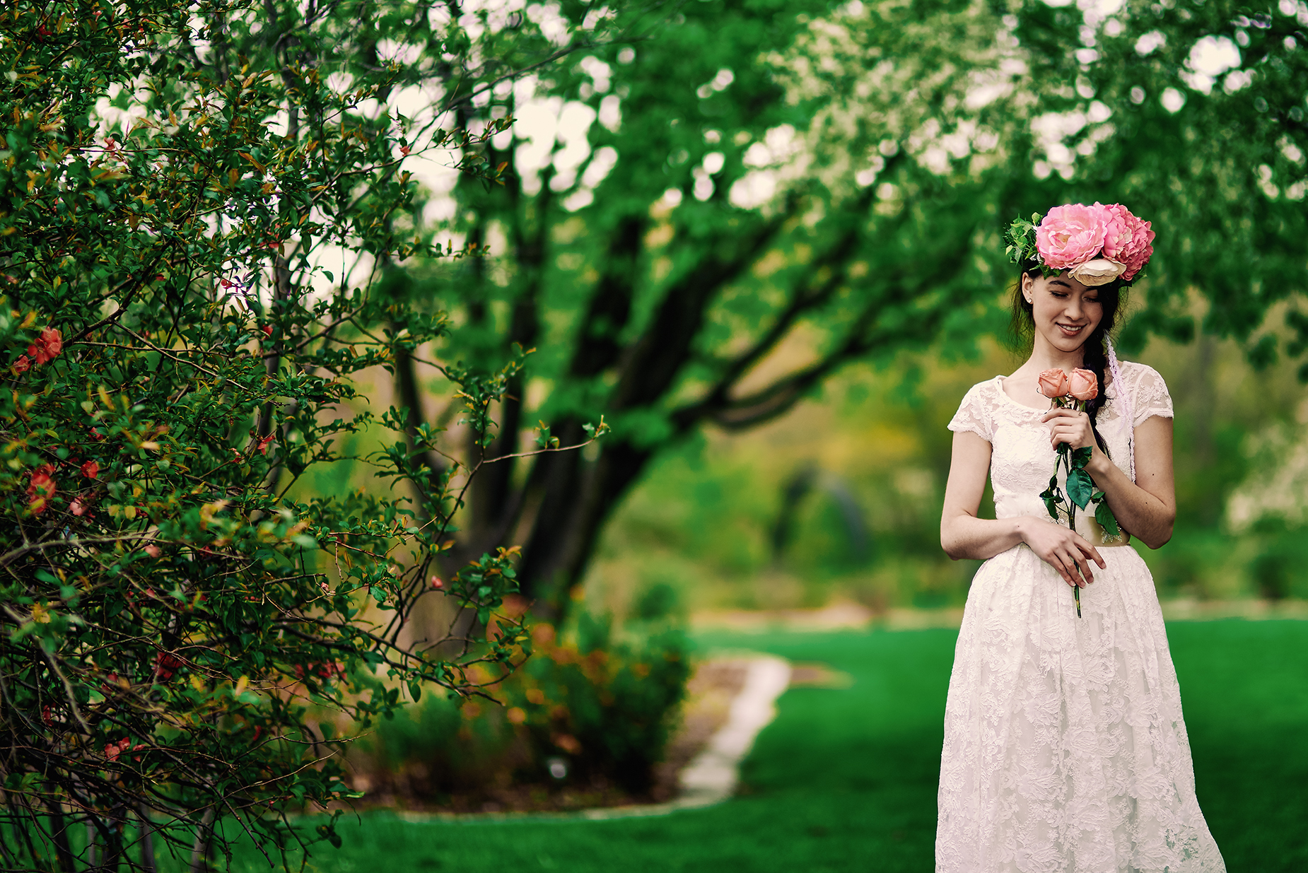 Springtime Wedding Inspiration - BRIDAL FASHION PHOTOGRAPHY