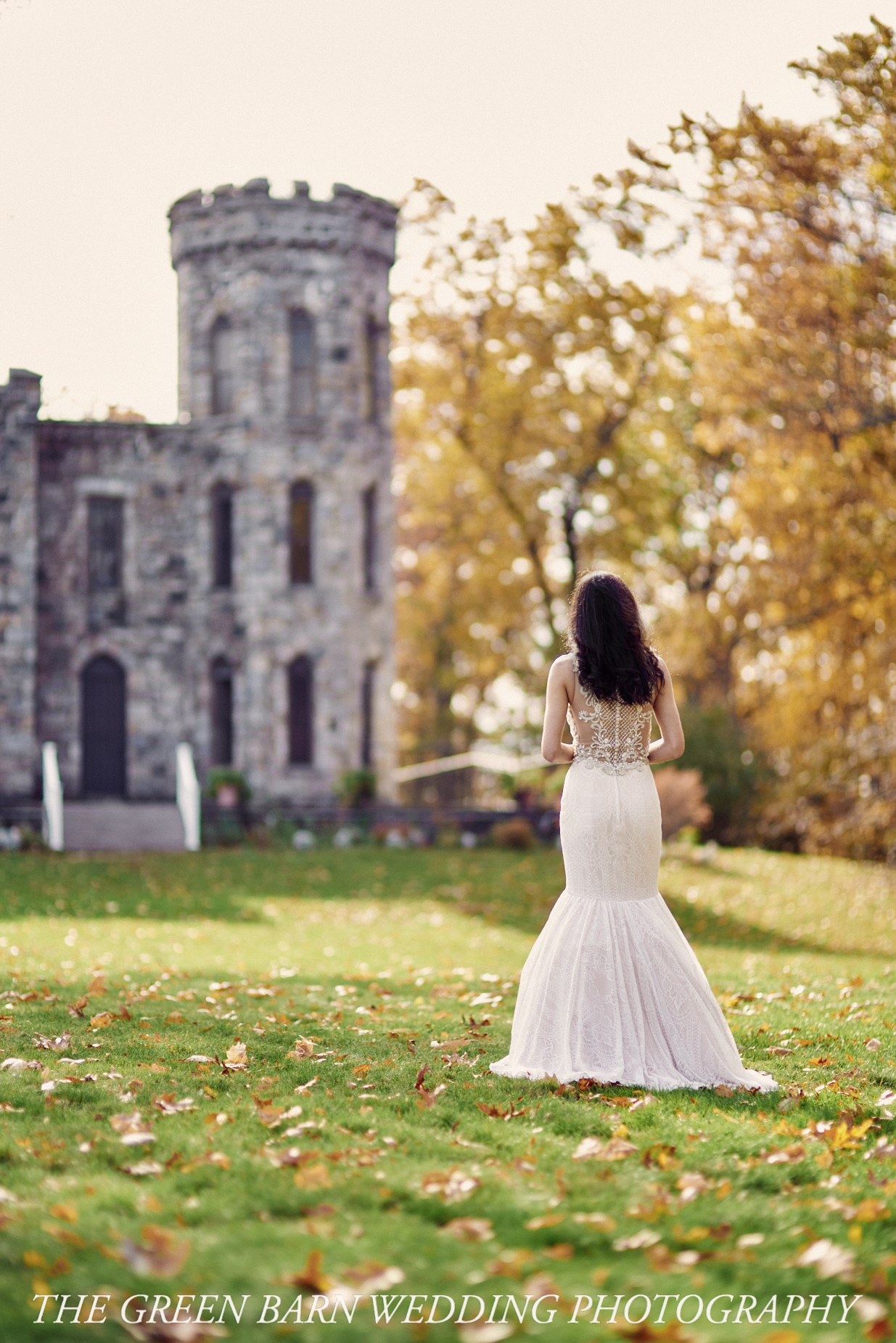 Autumn in New England Dream Wedding at Winnekenni Castle in Haverhill, MA