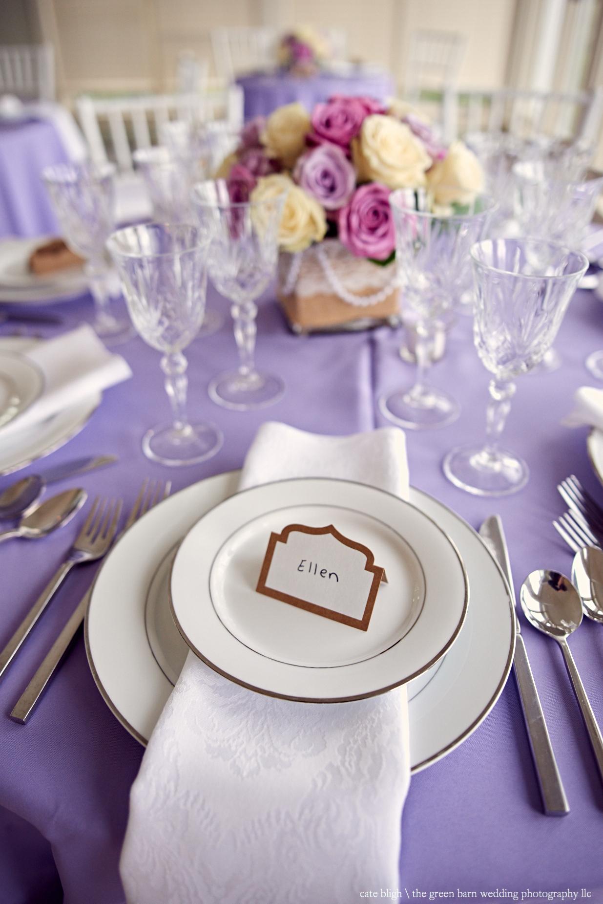 Maine coast wedding inspiration tablescape Cape Elizabeth