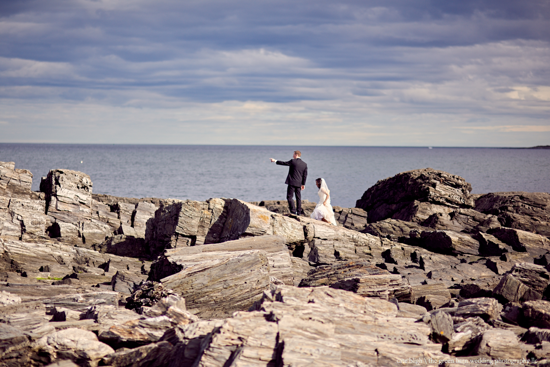 Bride and groom unconventional wedding couple portrait ideas