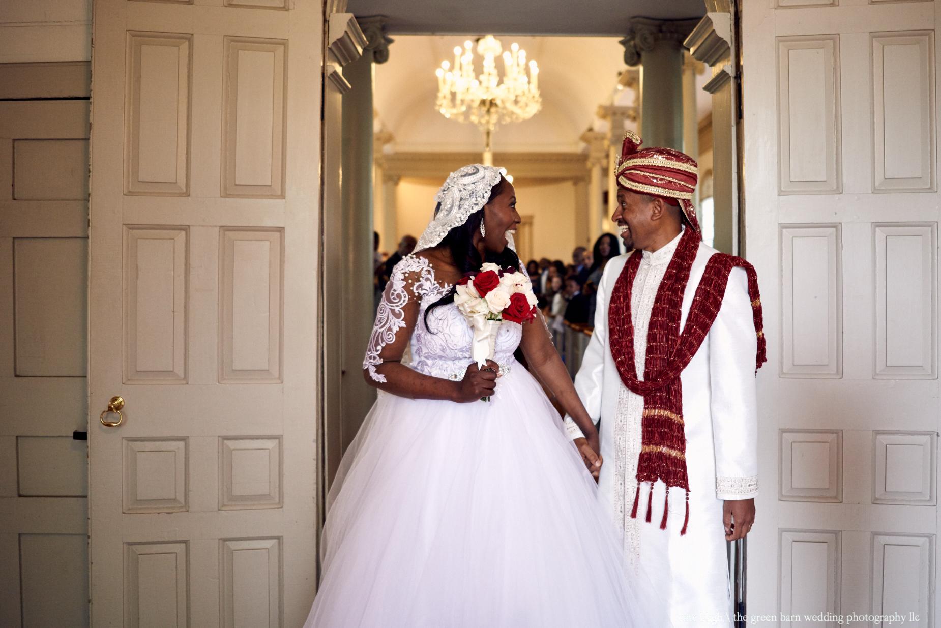 Serah and Onche's wedding at Christ's Church in Cambridge, Massachusetts