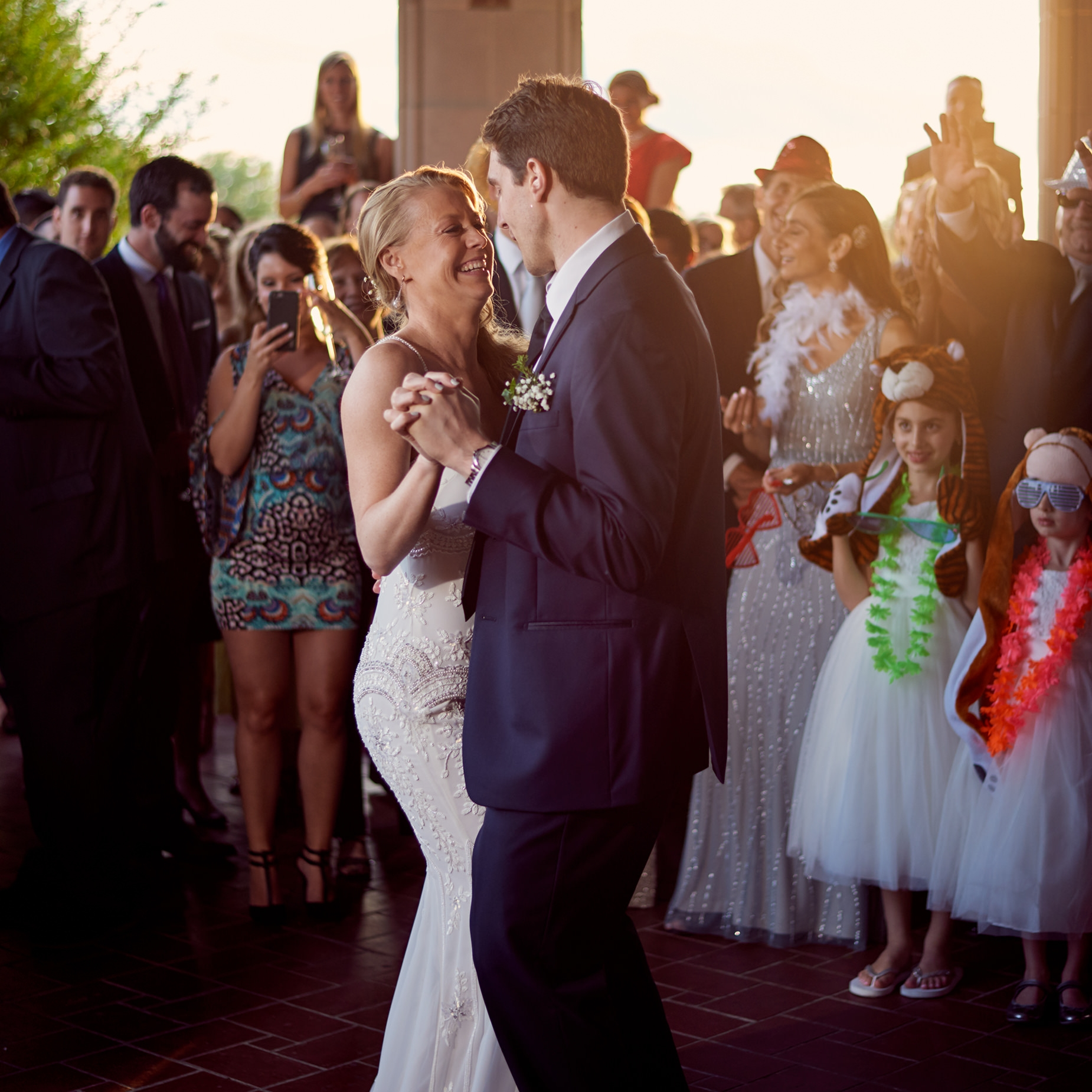 """""""We just got our photos from our wedding ceremony and reception and they are  EVERYTHING  we wanted plus  MORE ! You did such an amazing job capturing our day.. I cannot stop looking at them!!""""  KAITLYN M."""