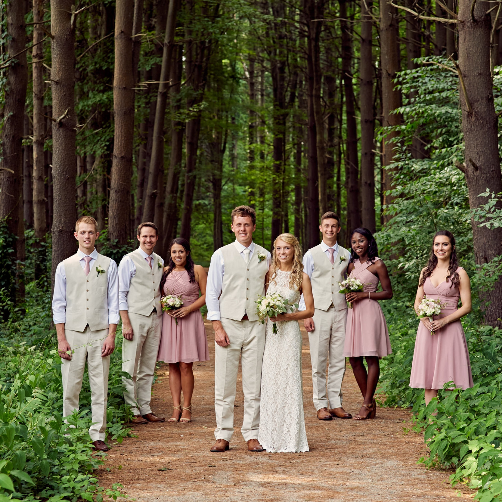 """""""Thank you so much for being our wedding photographer!!""""  KRISTINA O."""