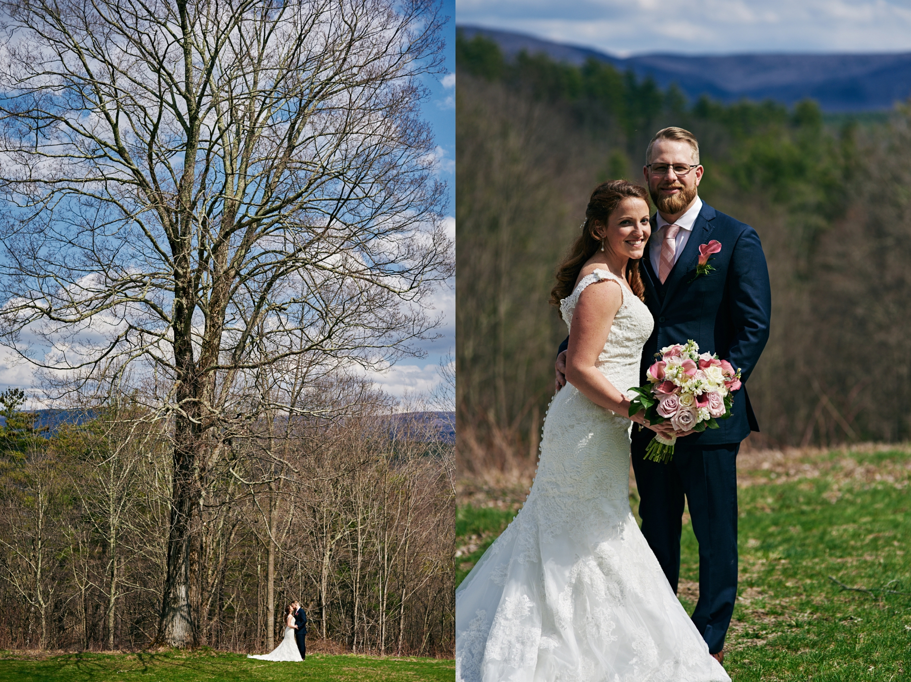 Laura and Luke's wedding at West Mountain Inn in Arlington, Vermont