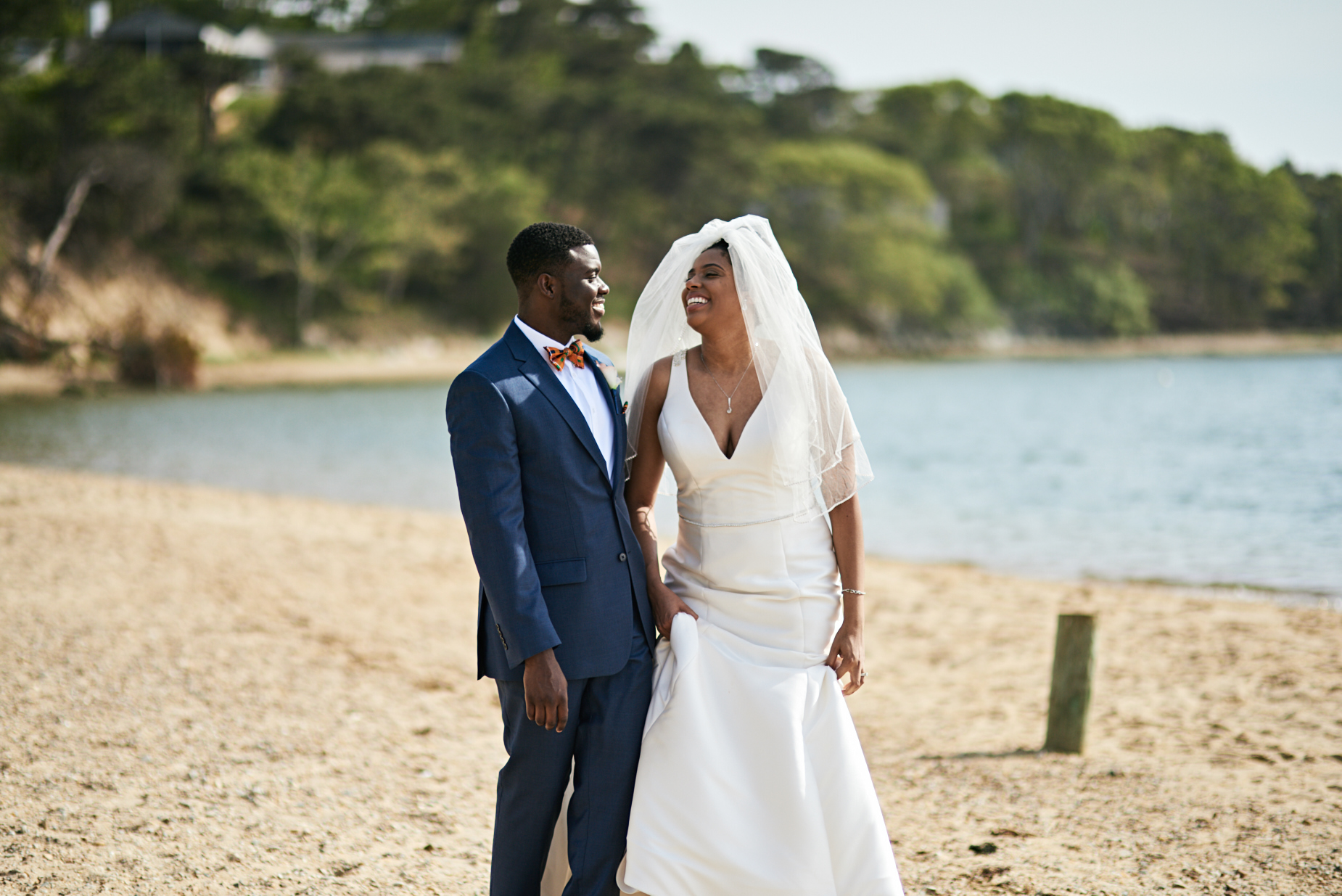 Wedding Photography by Cate Bligh | Martha's Vineyard Dream Destination Wedding at Sailing Camp Park in Oak Bluffs, MA