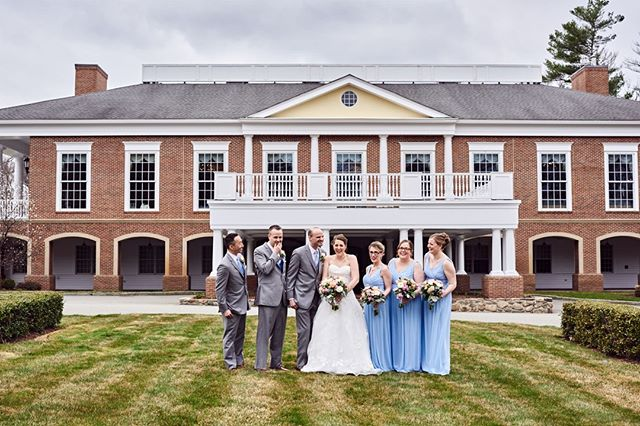 #weddingphotographer : Spring wedding at a classic New England country club