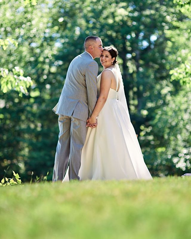 #weddingphotographer : Sunny, summer wedding, #downeast Maine.