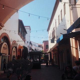 Shopping at Pasa Nuevo, Santa Barbara