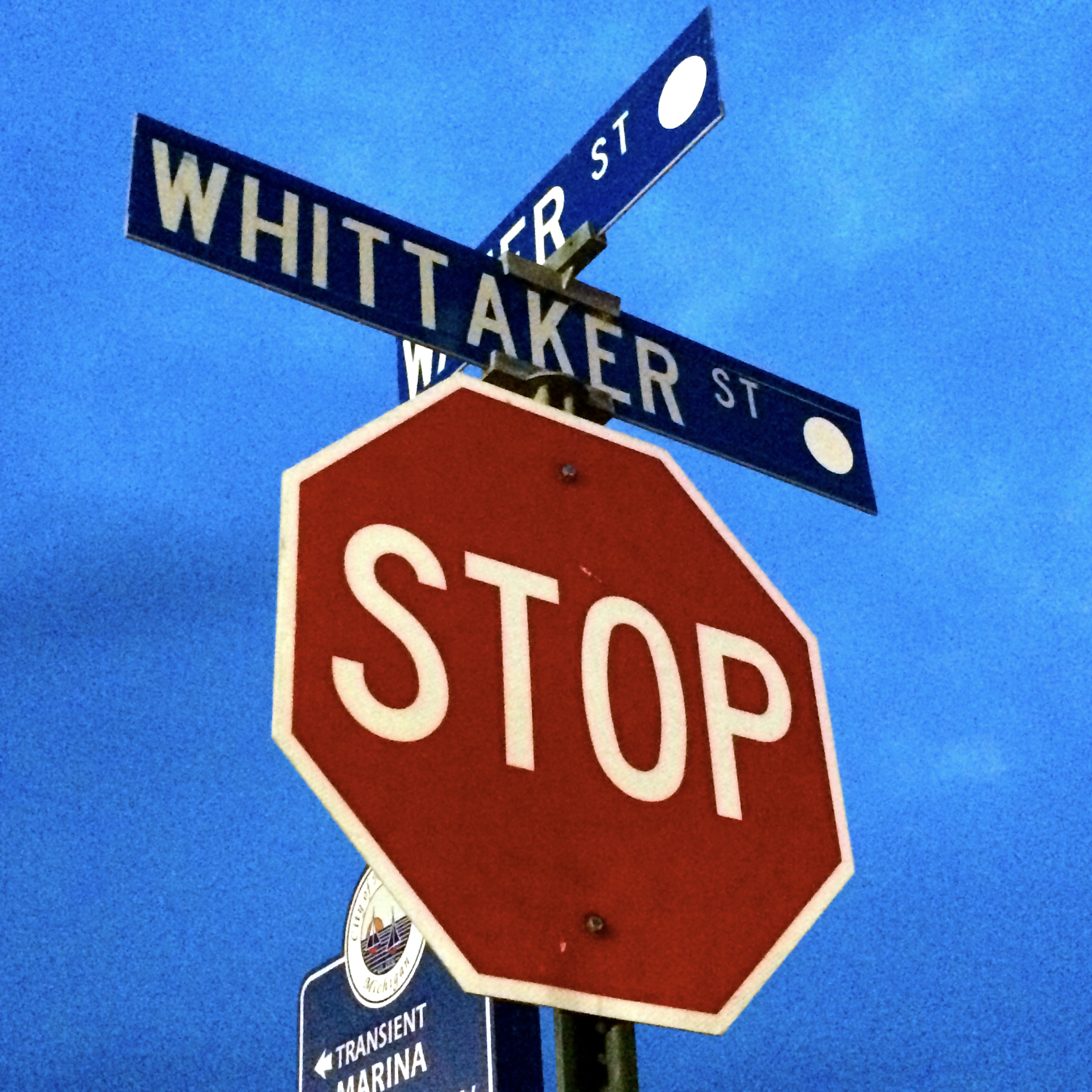 At the corner of Whittaker and Water