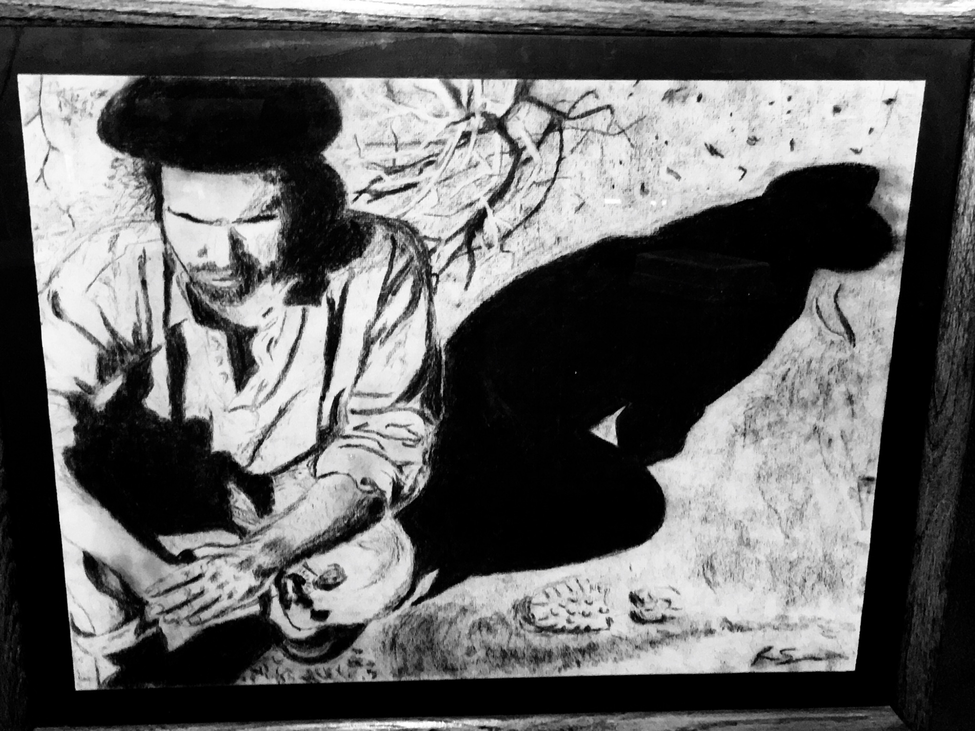 Yes, I like U2, but the real inspiration for the U2 drawings was all the detail in Anton Corbijn's photography.