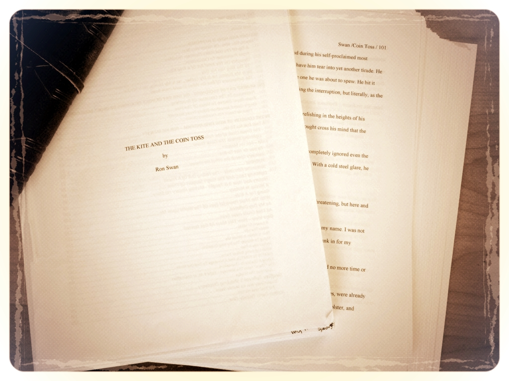Completed manuscript for The Kite and the Coin Toss