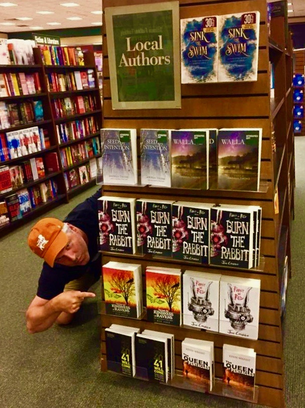 Look for it in the Local Author's Books section at the Barnes and Noble in Peoria, Il.