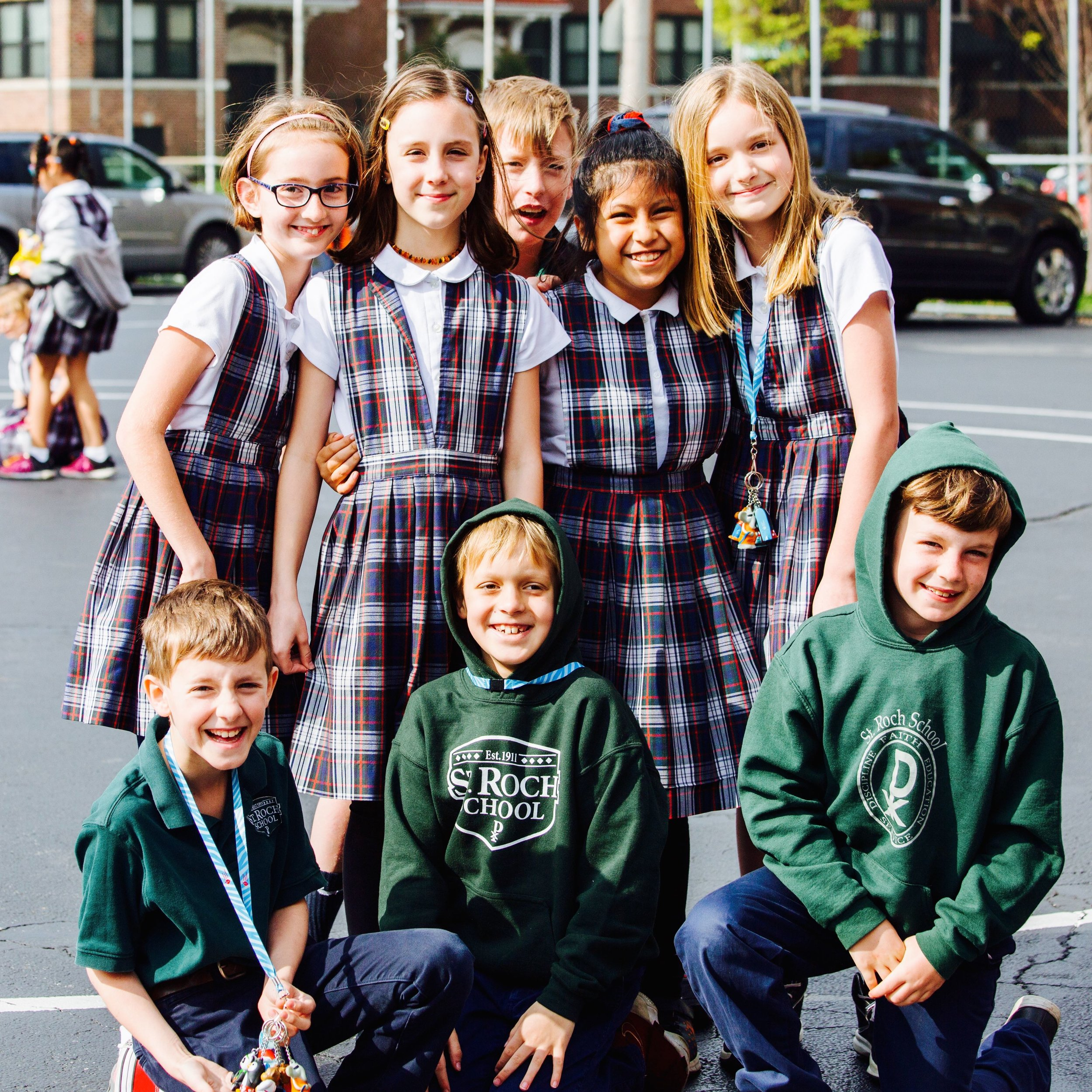 St. Roch School embraces the principles of academic excellence, faith, discipline, and service and offers an affordable education for children in preschool through eighth grades.