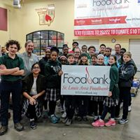 Supporting the St. Louis Foodbank -
