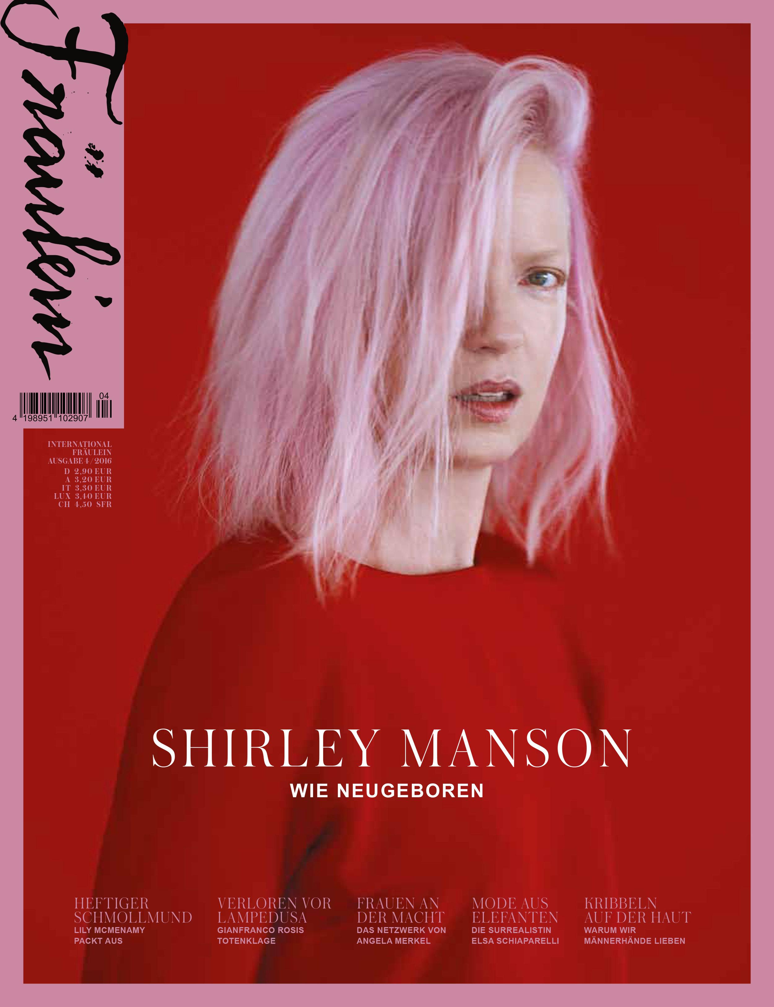 Aliona Kononova Shirley Manson Cover
