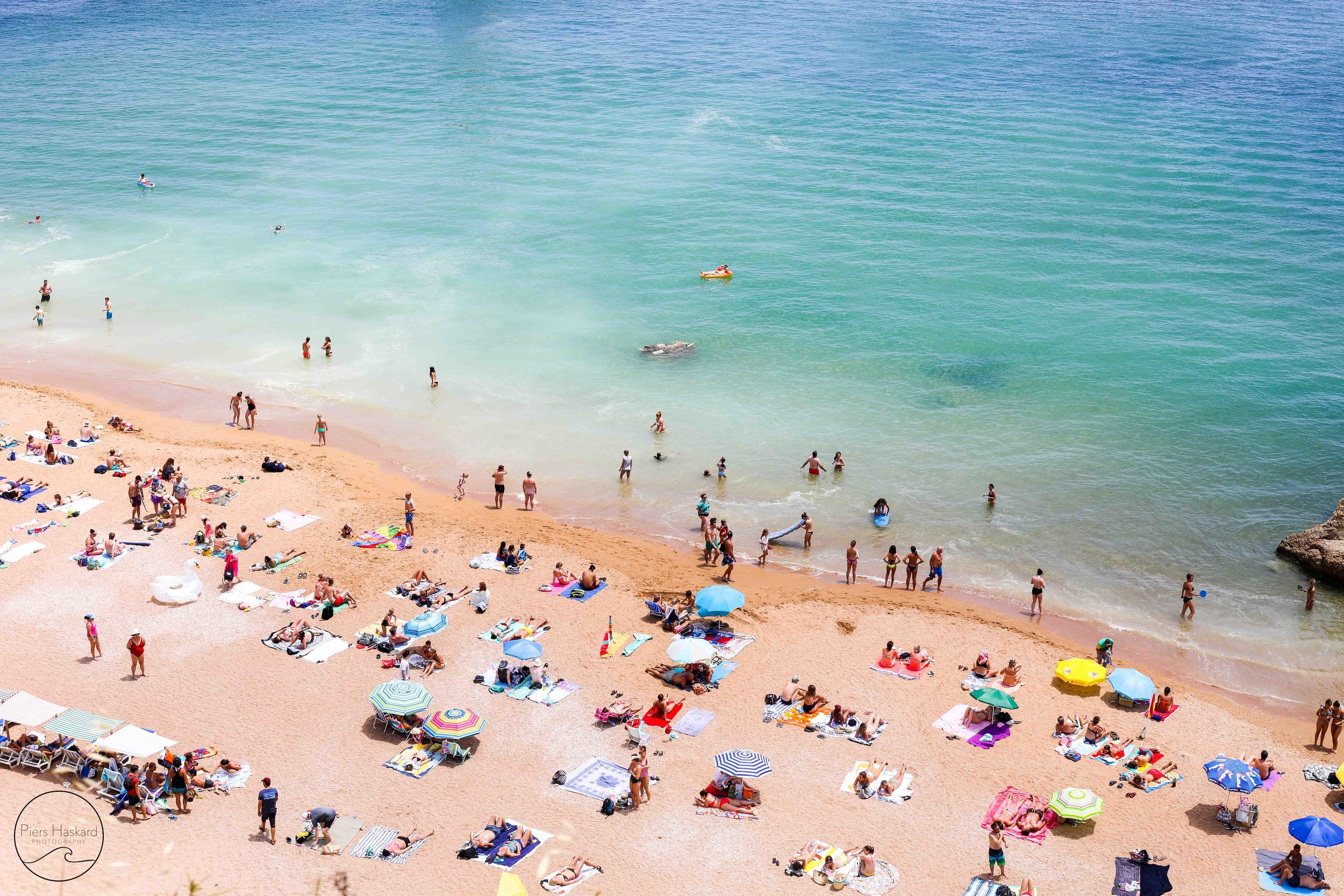 Portuguese Beach Scene Piers Haskard