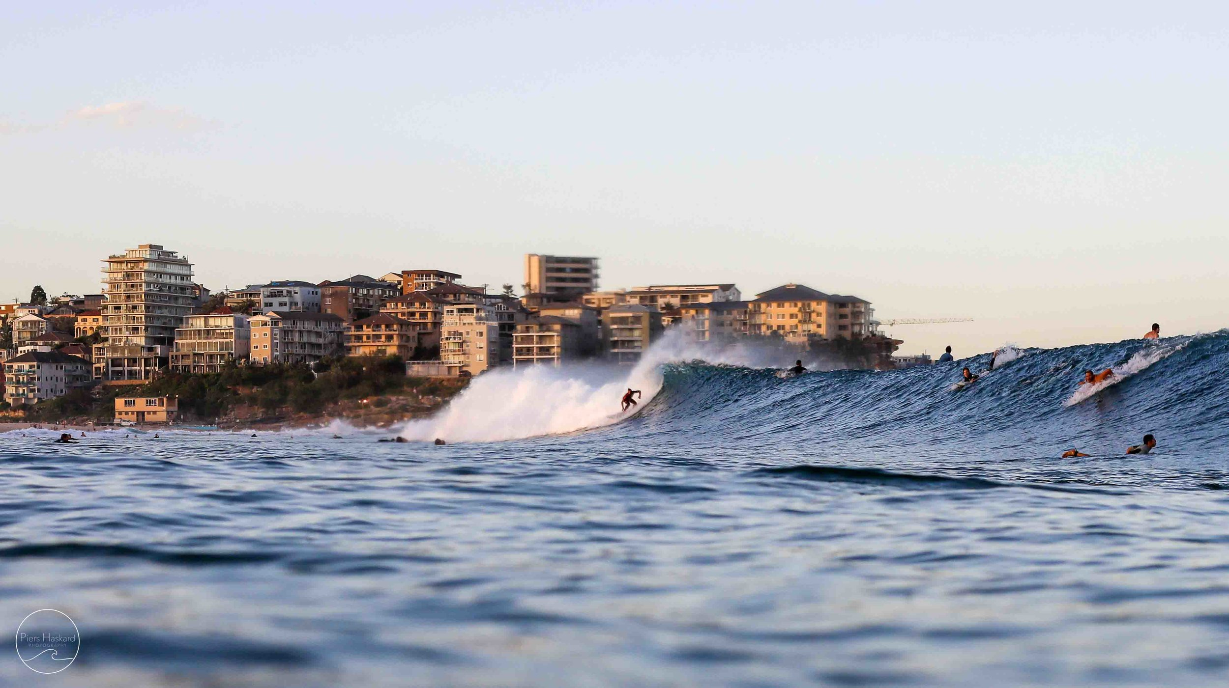 'Queenscliff Swell' - Available in the 'Life On The Coast' category.   BUY