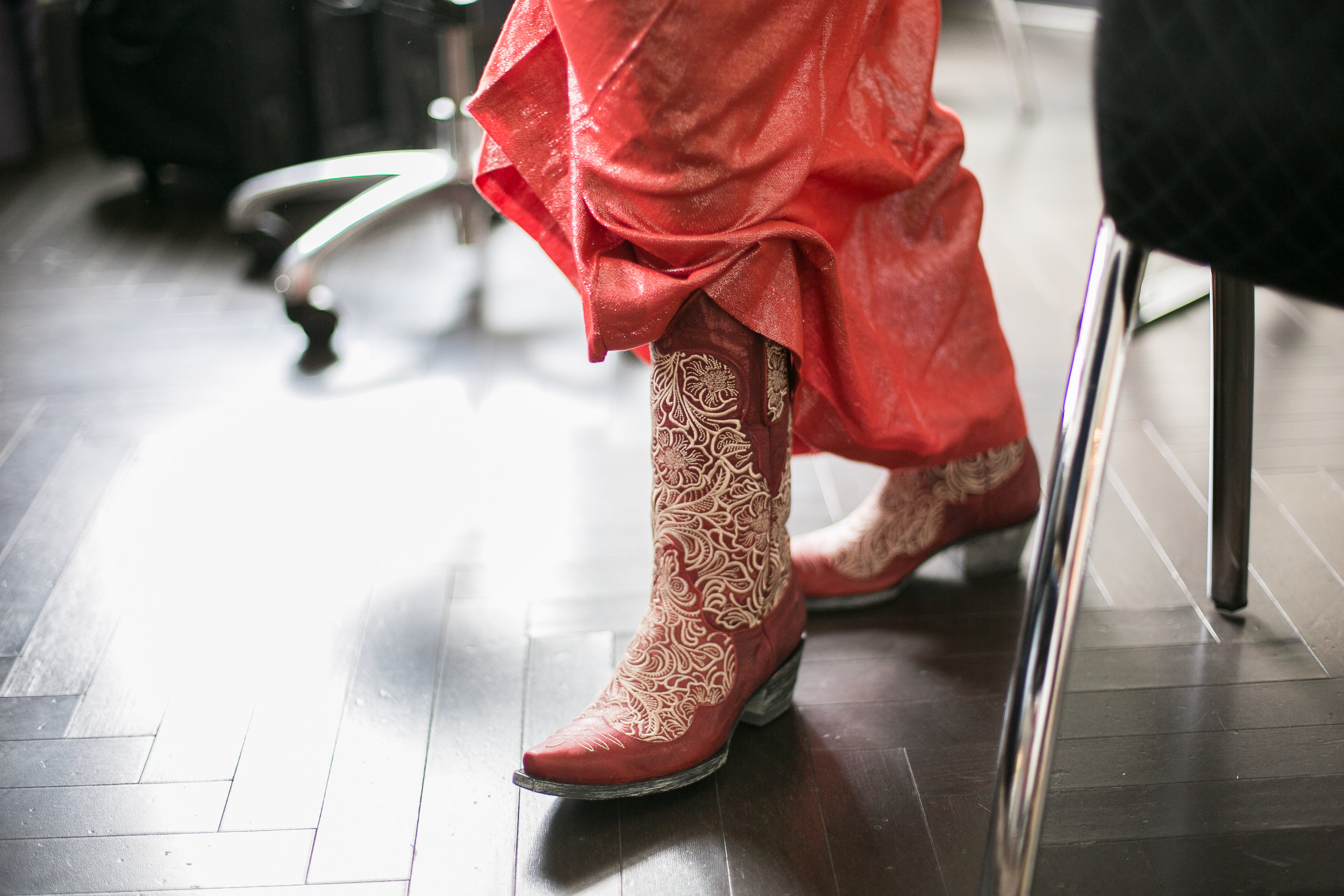 bridal cowboy boots