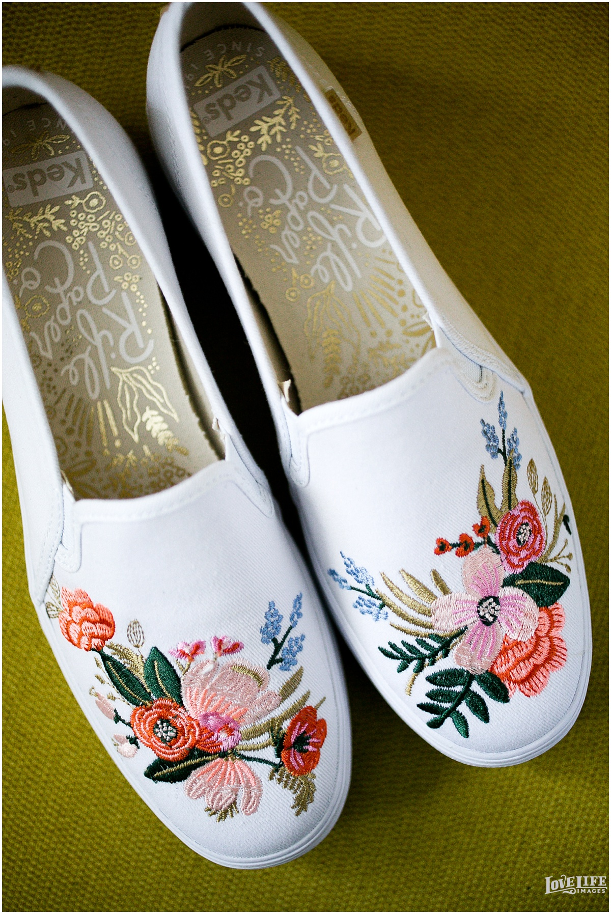 Rifle Paper Keds Wedding Sneakers