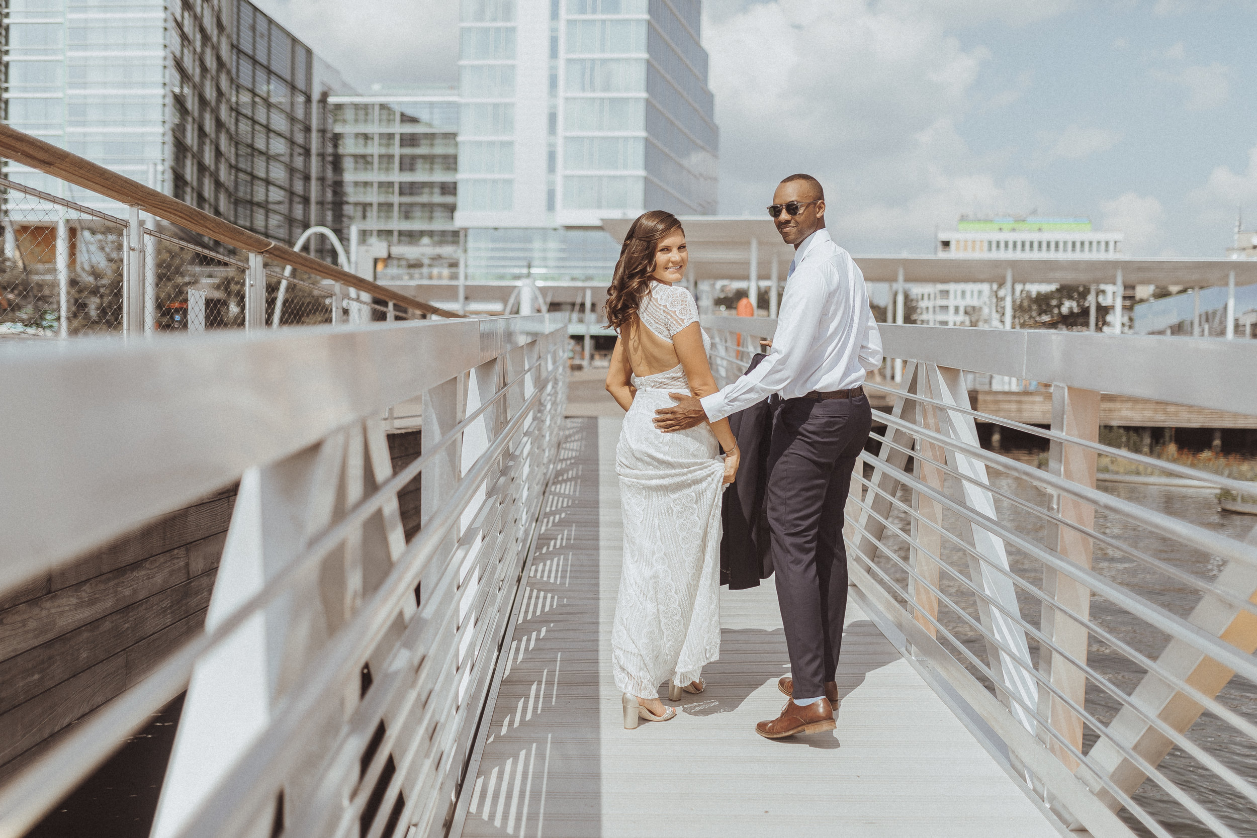 DC The Wharf wedding