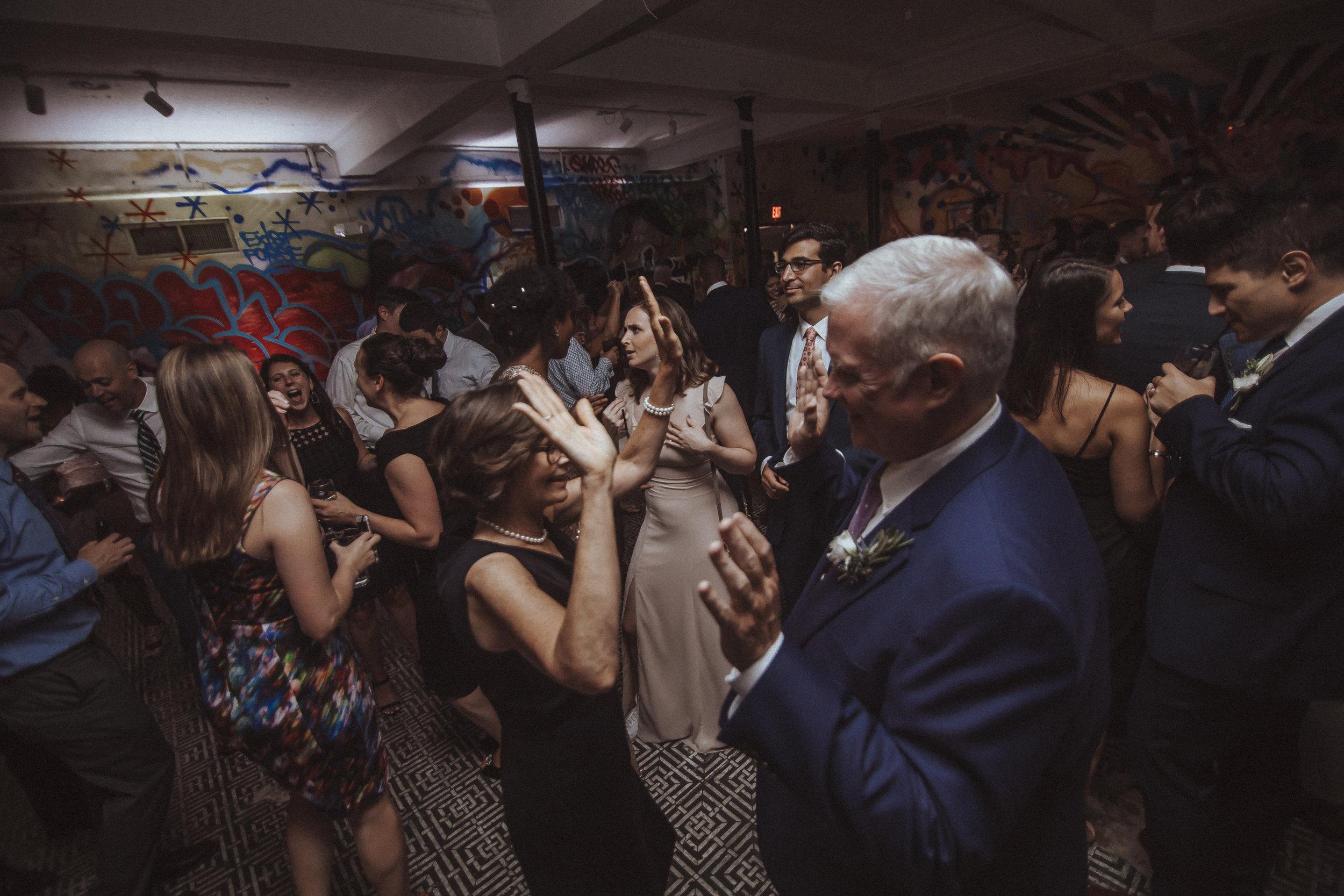Blind Whino DC wedding