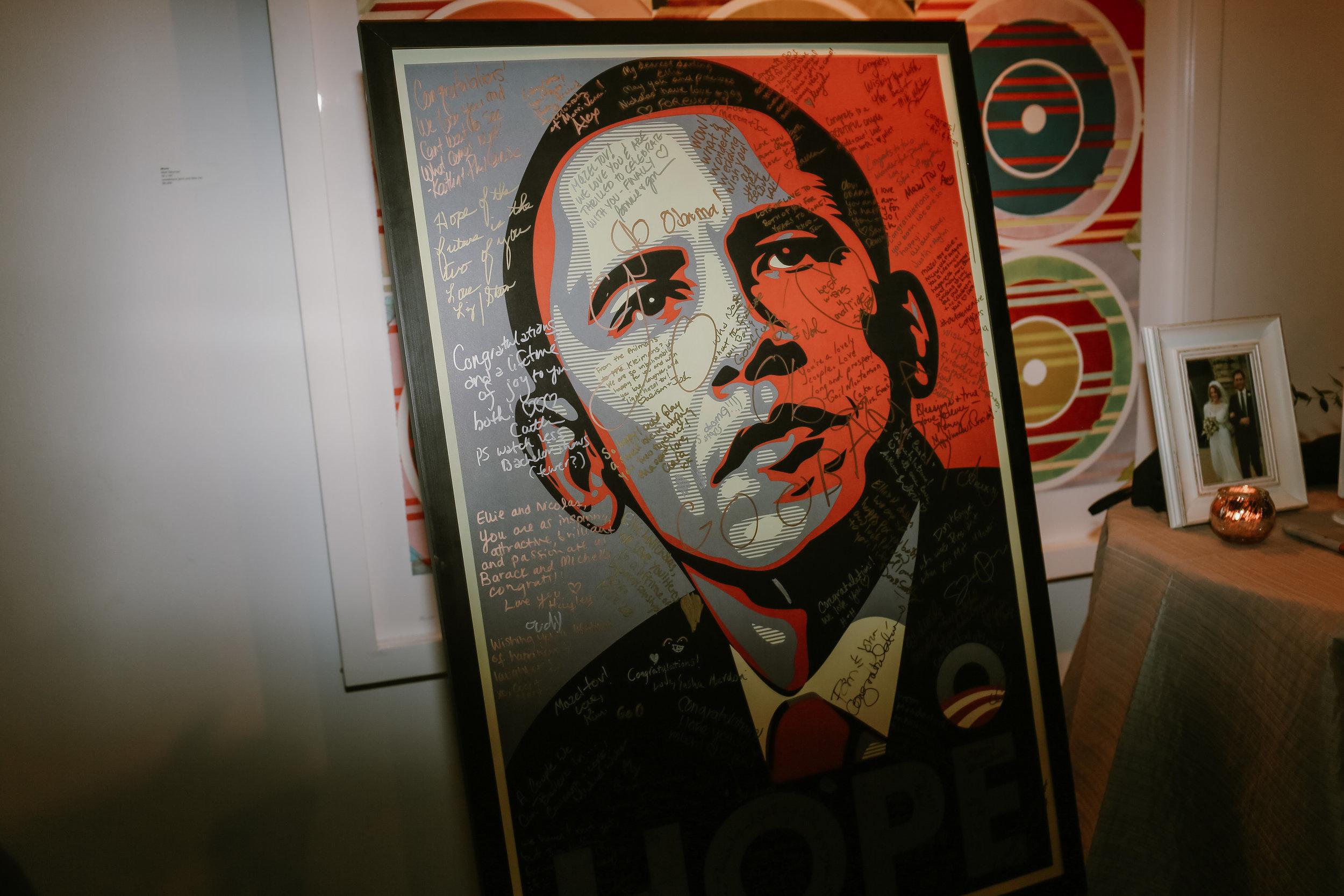 Obama guest book